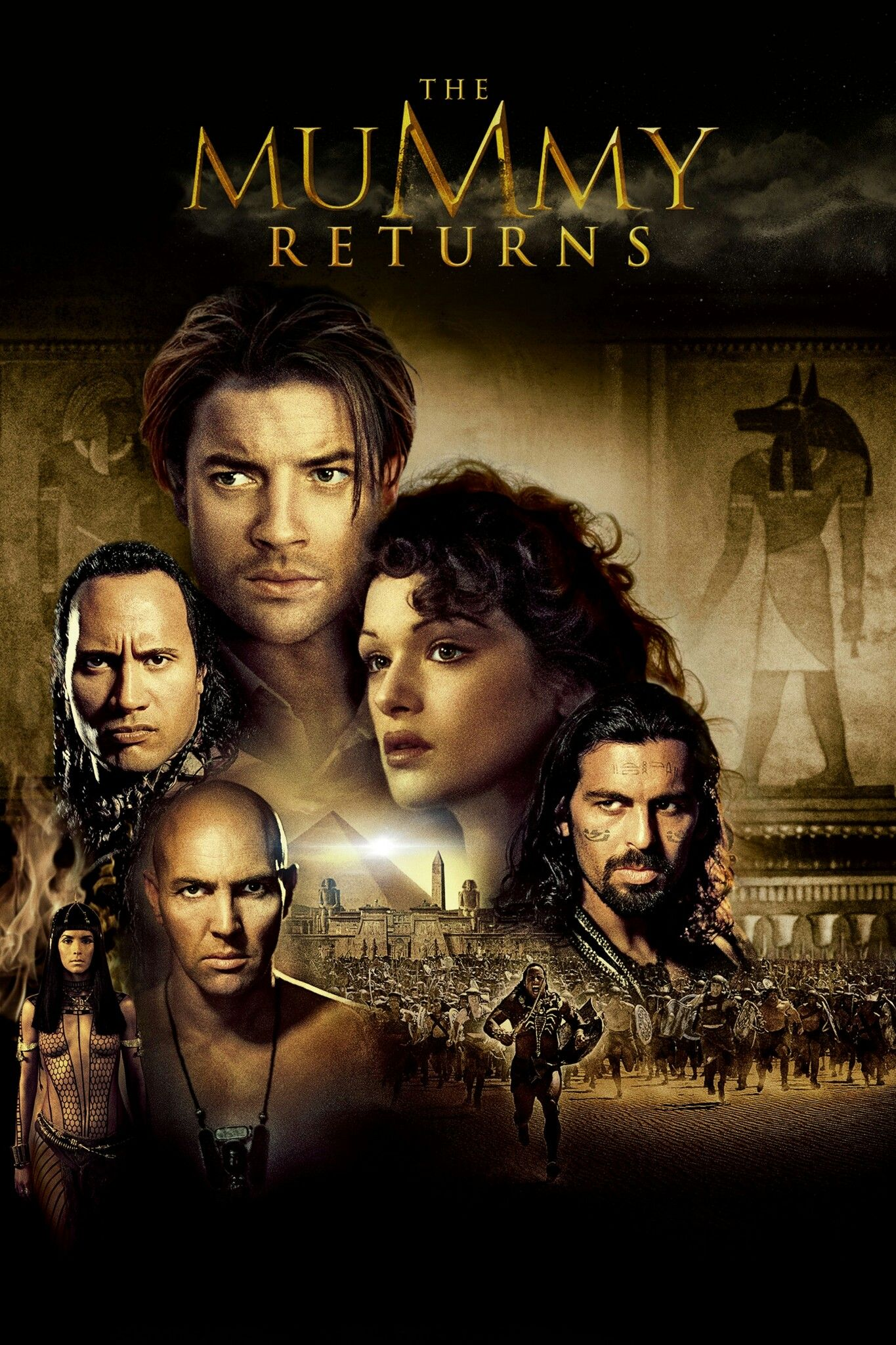 The Mummy Returns Movie Poster Fantastic Movie Posters