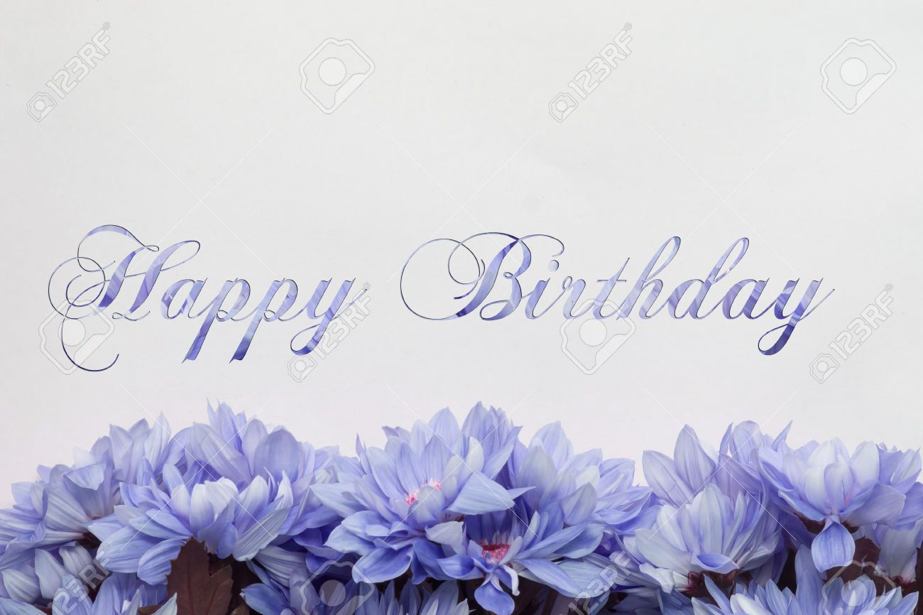 Happy birthday flowers on white background stock photo picture happy birthday flowers on white background stock photo picture izmirmasajfo