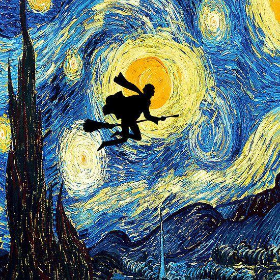 Harry Potter Iphone Wallpaper: Harry Potter Van Gogh Starry Night Apple Iphone 5, Iphone