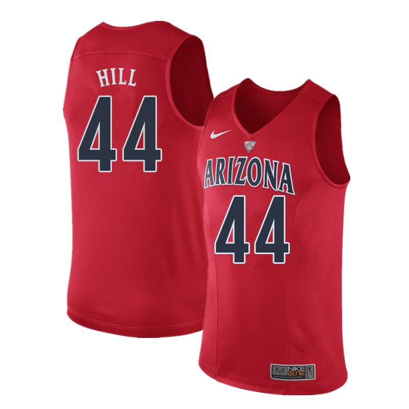 Men Arizona Wildcats 44 Solomon Hill College Basketball Jerseys Sale Red College Basketball Jersey Jersey Basketball Jersey