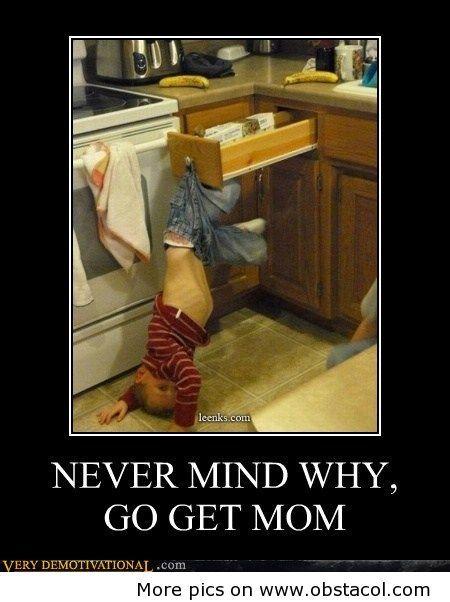 OMG...Poor kid...But it is still funny.
