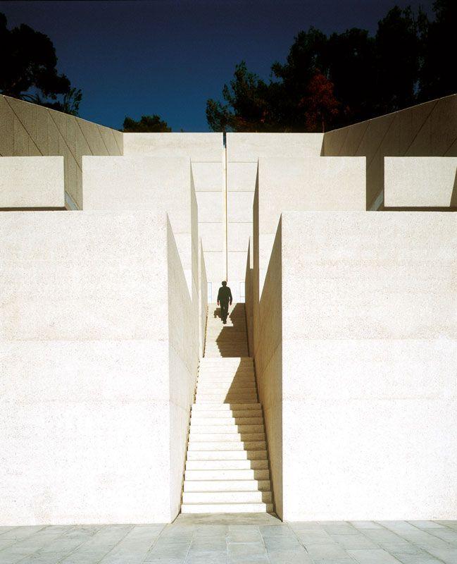 Extension du le cimetière de saint-pancrace, roquebrune-cap-martin, by marc barani architecte