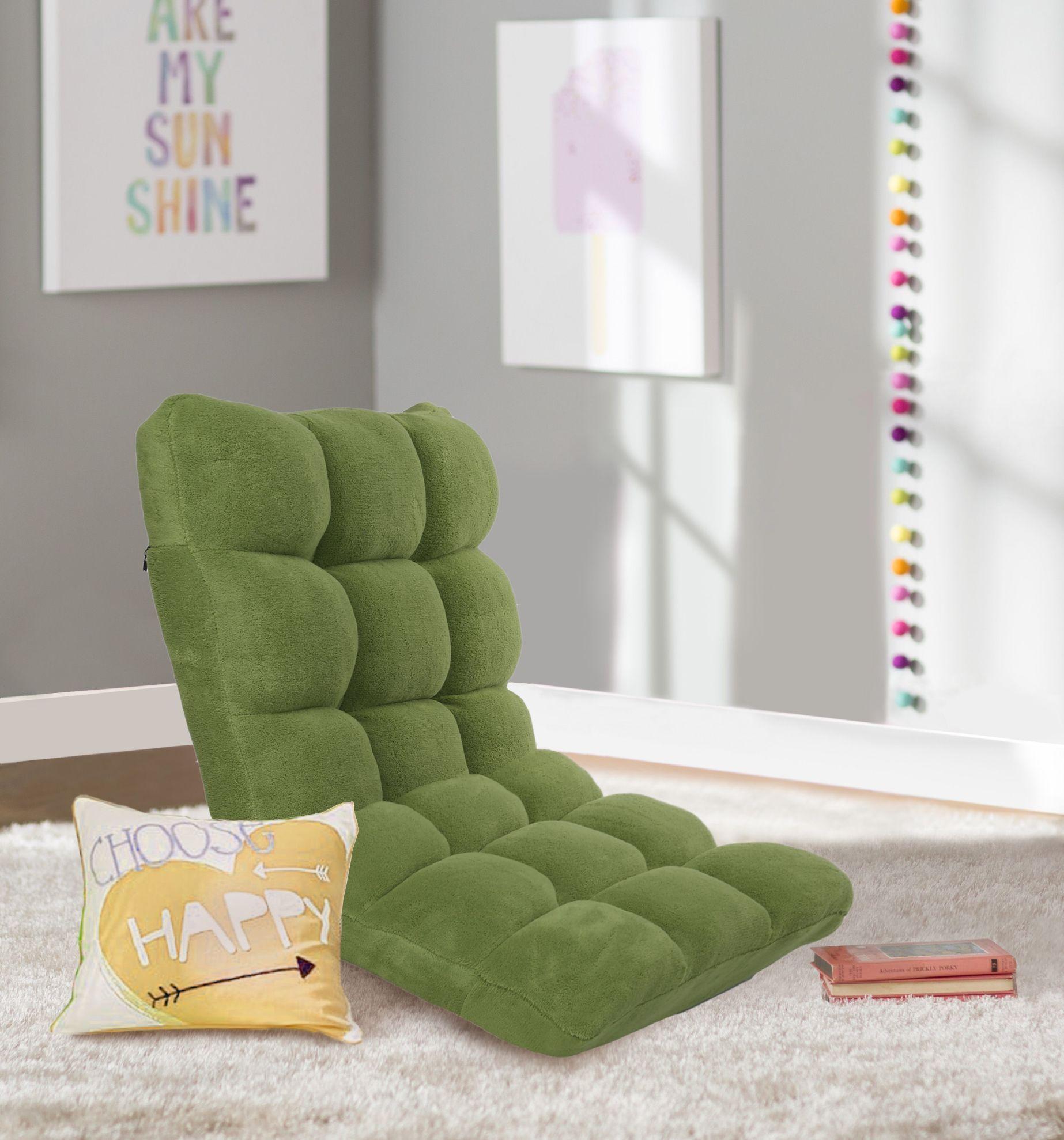 Iconic home daphene adjustable recliner rocker memory foam floor