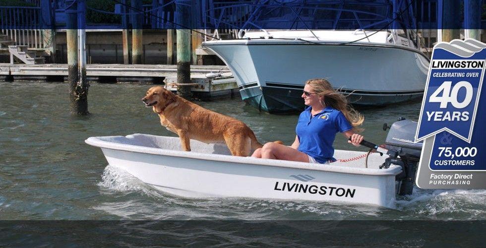 LV8 | Livingston Power Catamaran Skiff Boats | Livingston ...