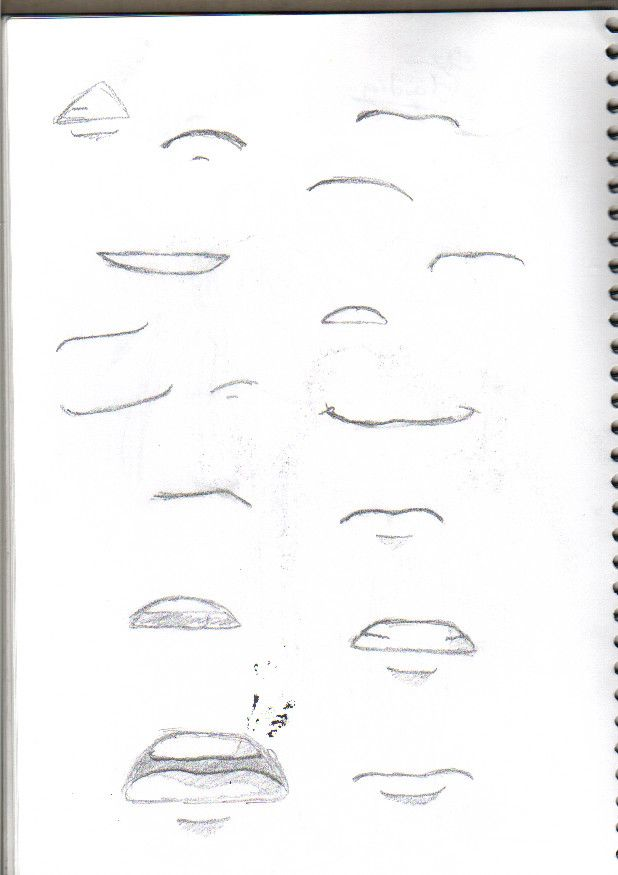 Anime Mouths By Candyslush On Deviantart Mouth Drawing Anime Mouths Drawing Tips