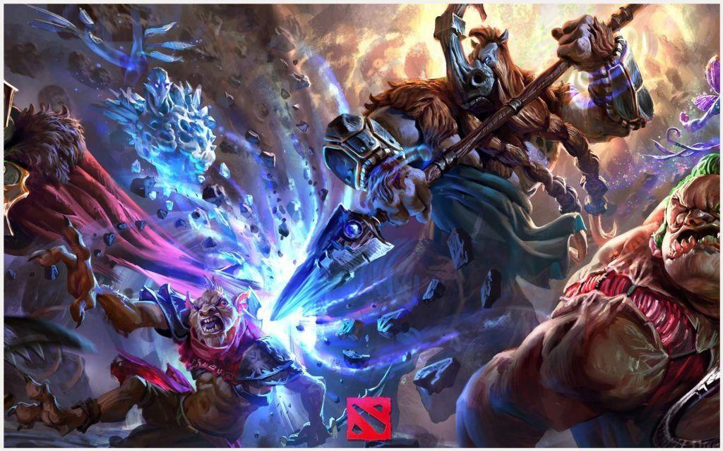 Heroes Dota 2 Game Wallpaper