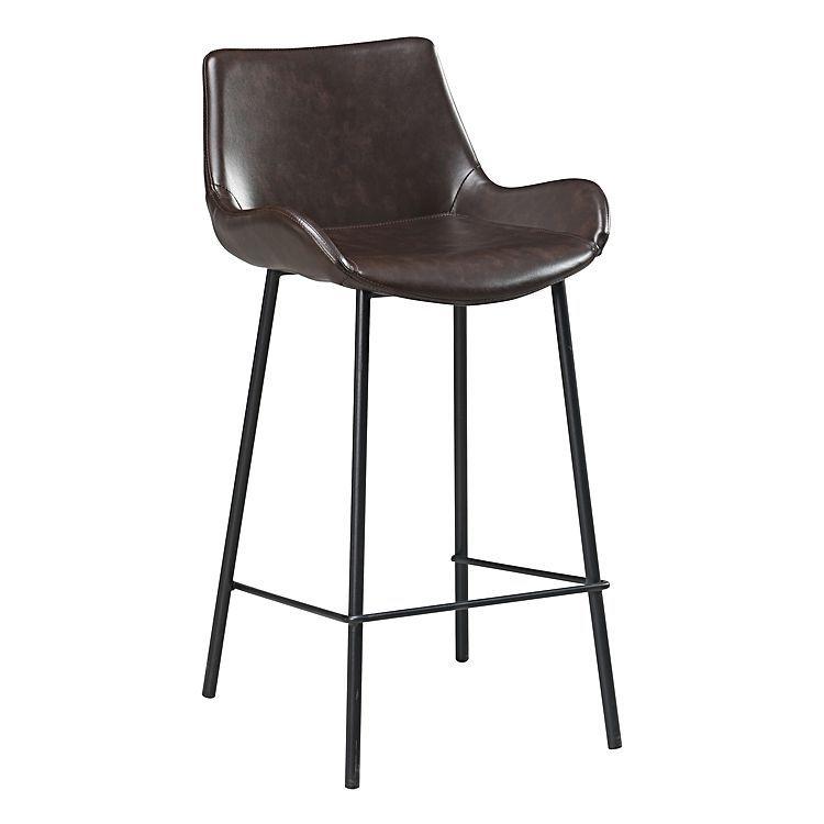 Super Kelsie Bar Stool Vintage Brown Cp Bar Chairs Kitchen Machost Co Dining Chair Design Ideas Machostcouk