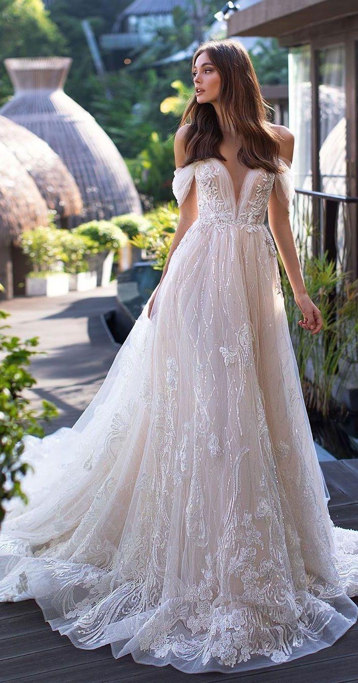 Photo of Elegant off the shoulder wedding dresses For Elegant Brides