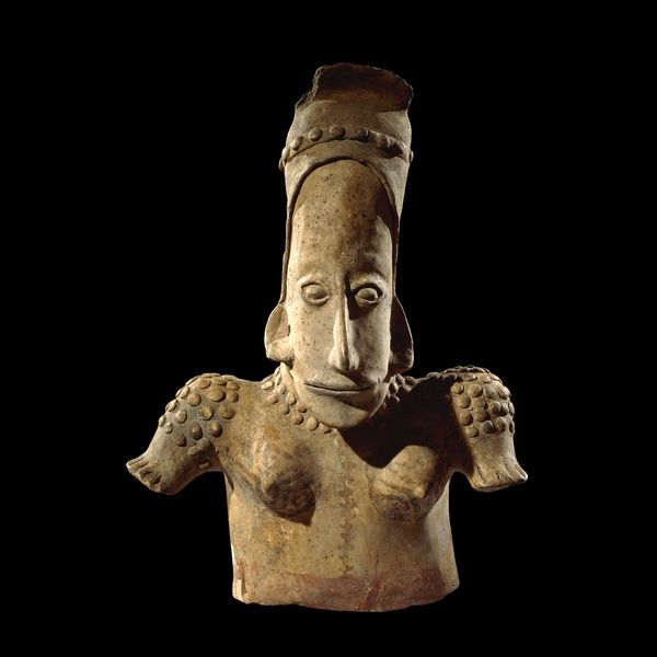 Pottery torso of a female From Jalisco, West Mexico 300 BC - AD 300 British Museum - Highlight image