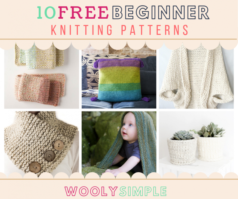 Photo of 10 Free Beginner Knitting Patterns for Absolute Beginners