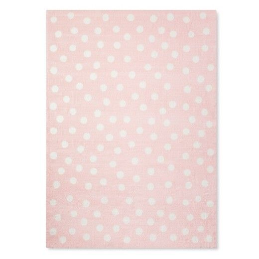 Treat Your Feet To The Polka Dot Plush Area Rug From Pillowfort This Throw Has A Luxurious Texture And Colorful Style
