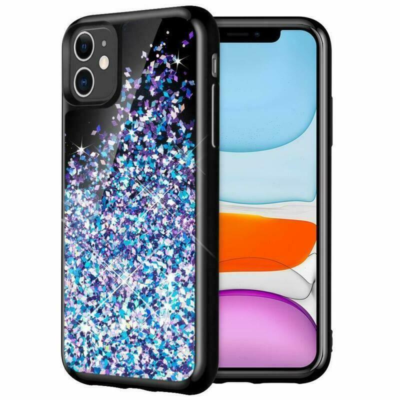 Bling liquid glitter case for 61 apple iphone 11 sparkle