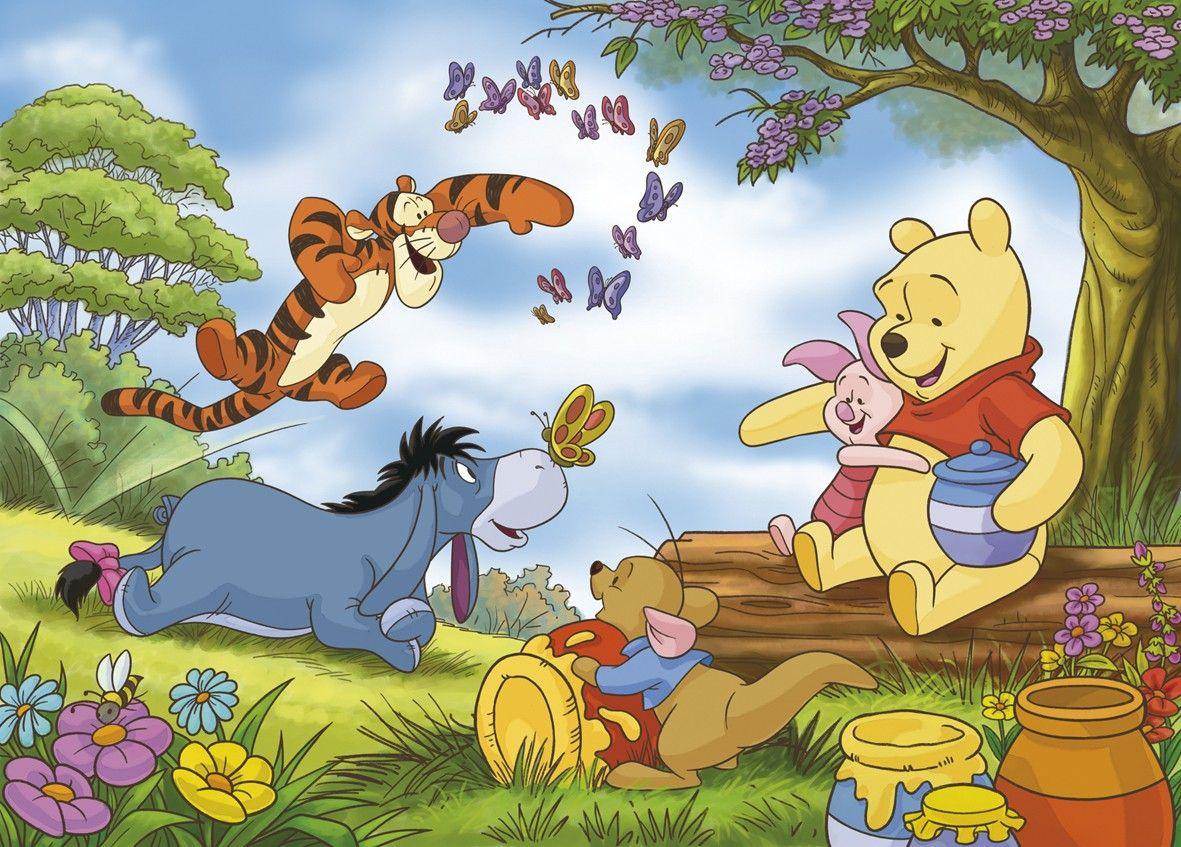 Картинки из мультфильма винни-пух все герои