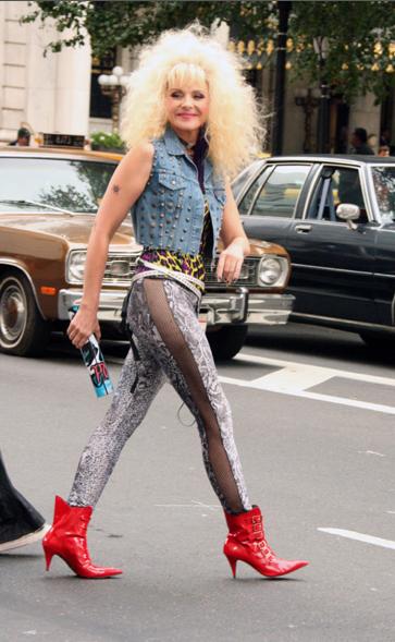 Sitc 80 S Rocker Chick Look Sitc Pinterest Costumes Rocker