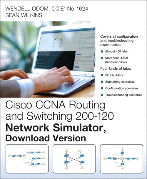 Cisco CCNA Routing and Switching 200-120 Network Simulator, Download