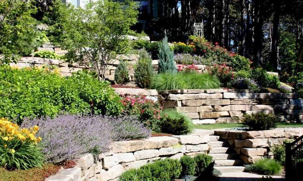 hill landscape design ideas hilly