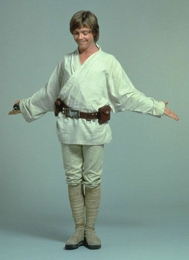 Luke Skywalker Tatooine outfit // oh my god you are a DORK mark hamill