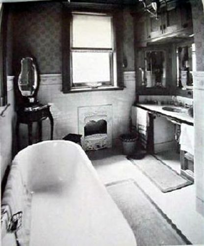 Images of vintage bathrooms 1800 39 s walkabout let s talk for 1800s bathroom decor