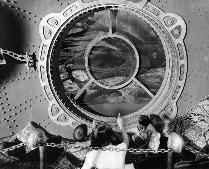 Jules Verne: Disneyland 20k exhibit, 1955 - Andrew Nash