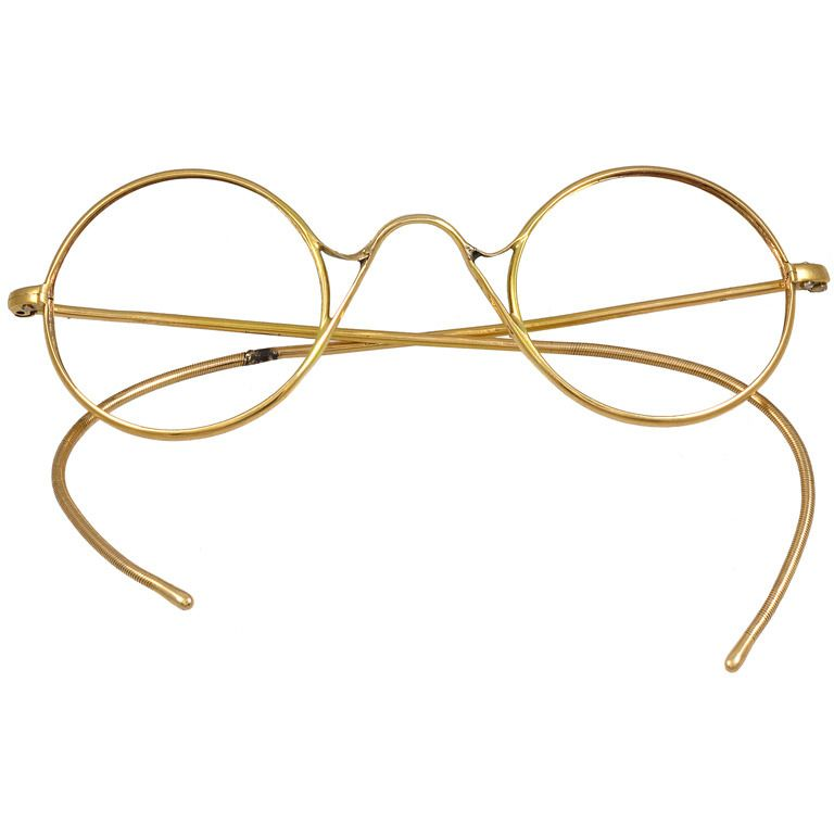 Gold Eyeglass Frames | Minimal, Glass and Gold
