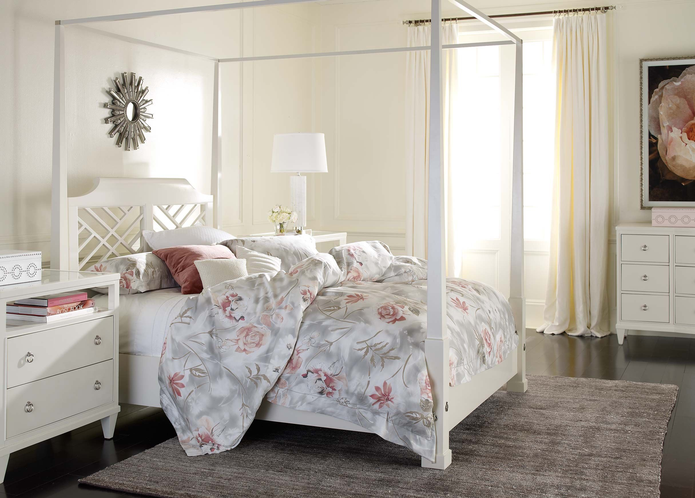 Chippendale White Bedroom Ethan Allen