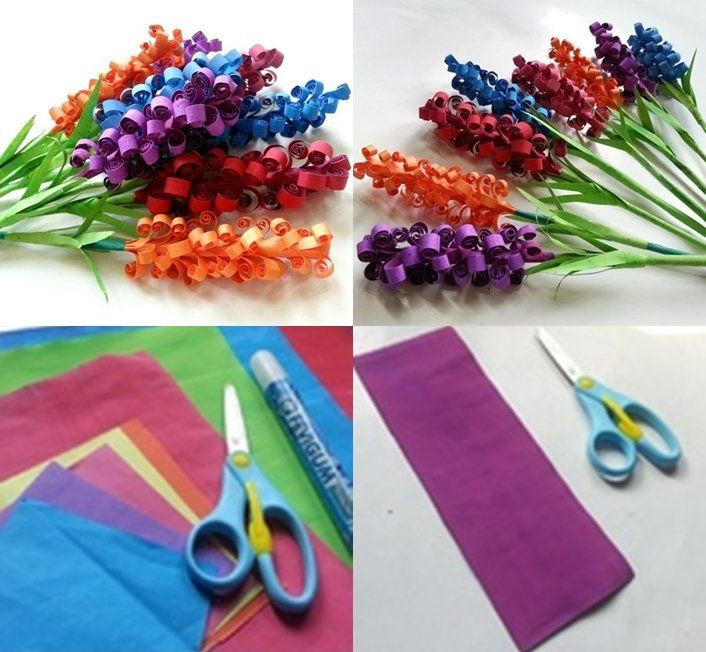 paper flowers guide Pretty DIY Swirly Paper Flowers Guide