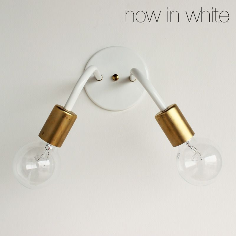 Image of Two-head wall sconce95
