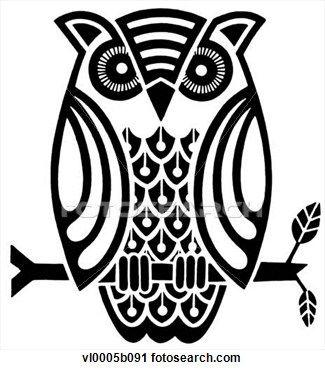 Owl Clip Art Black And White Clipart