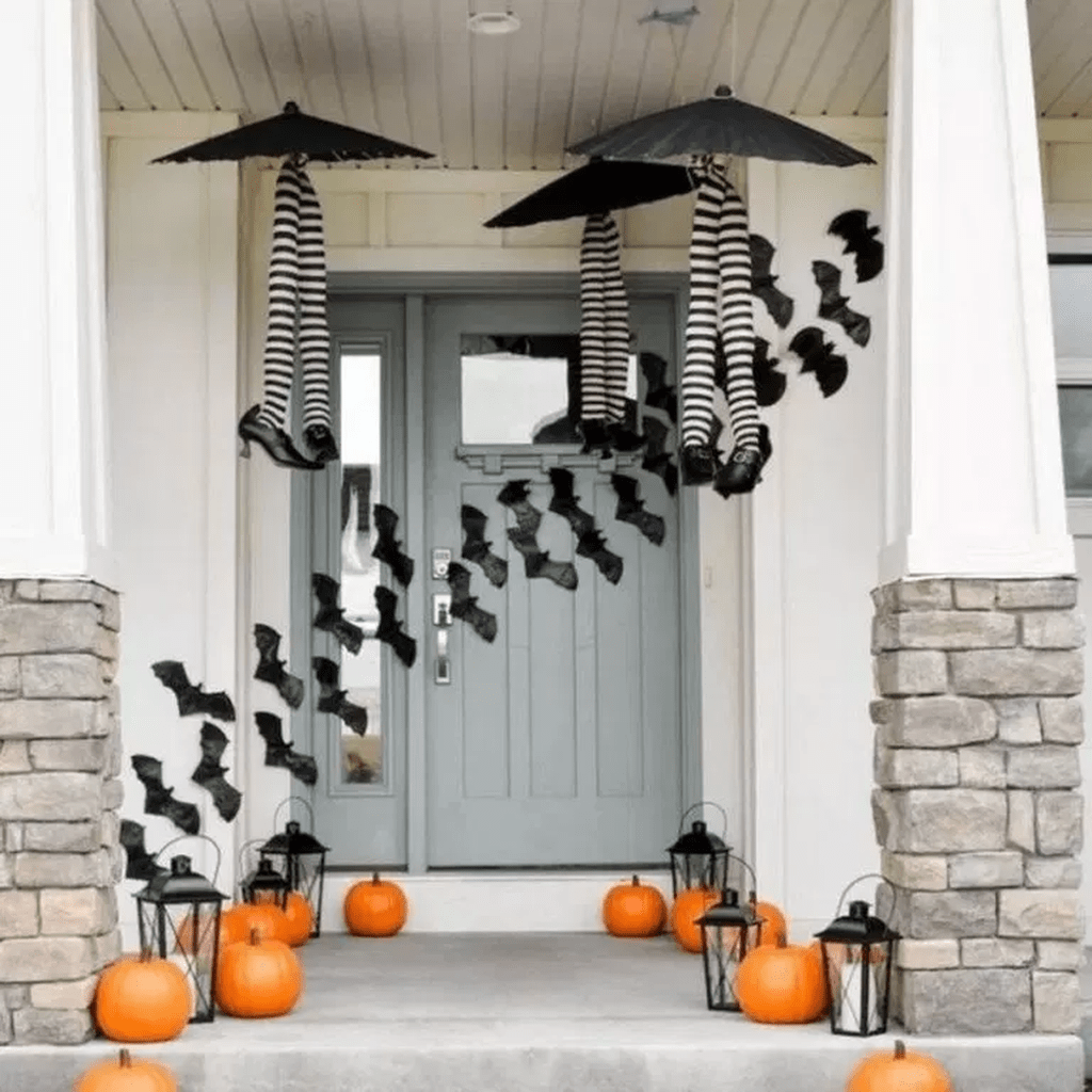 Decoration Halloween Magasin.33 Awesome Halloween Porch Decorations Halloween Mantel Halloween Porch Decorations Halloween Porch