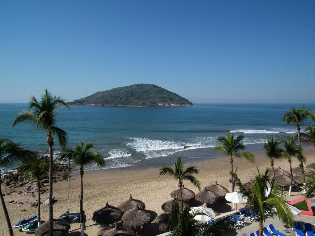 Mazatlan Mexico Swam To That Island Not As Close It Would Ear