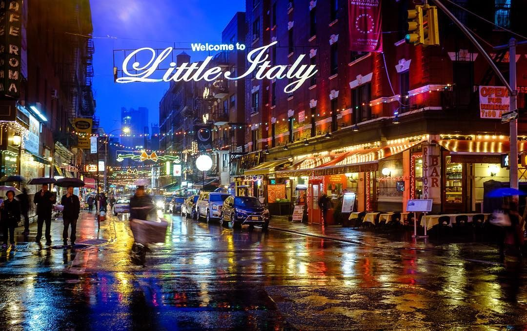 New York City Feast of San Gennaro 2016 in Little Italy