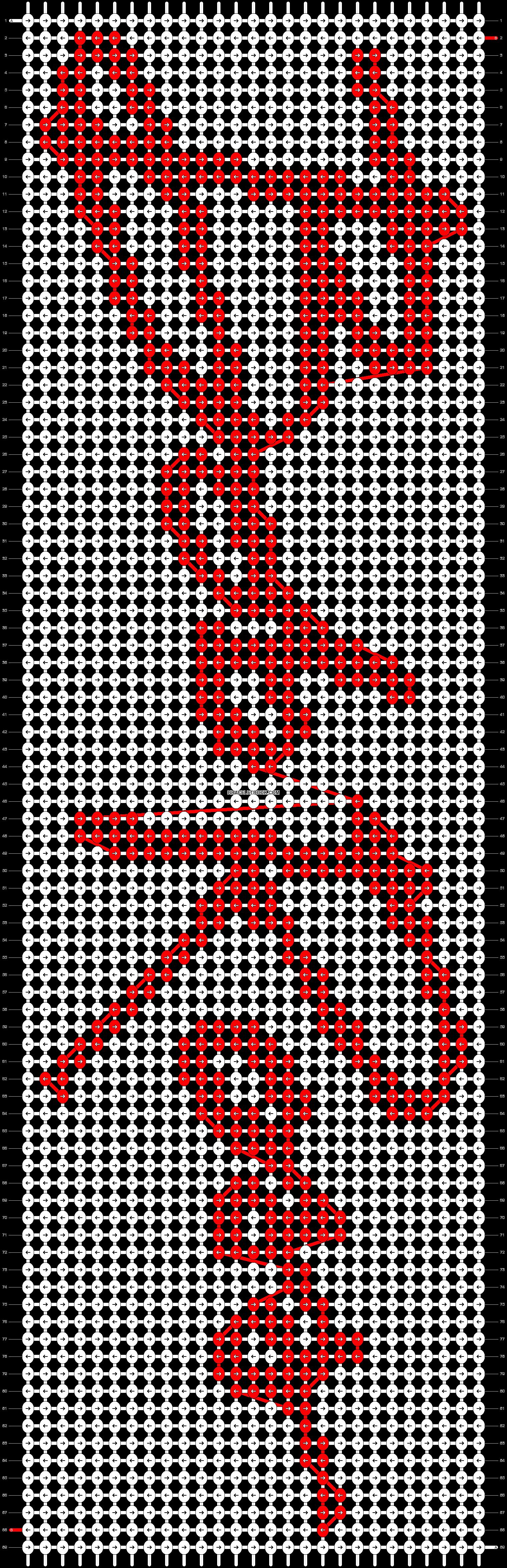 Alpha Pattern 44653 Braceletbook In 2020 Alpha Patterns Friendship Bracelet Patterns Art Painting Oil