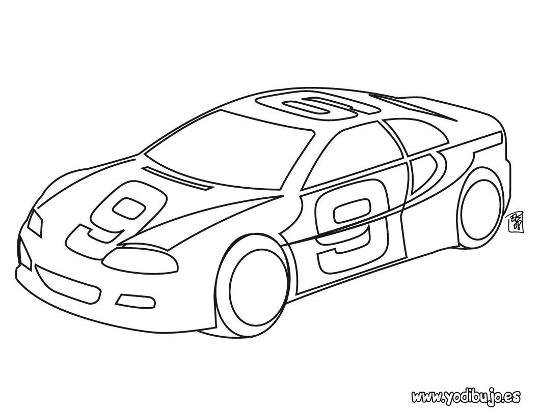 Dibujos Para Pintar Autos Dibujos Para Pintar Cars Coloring Pages Race Car Coloring Pages Coloring Pages