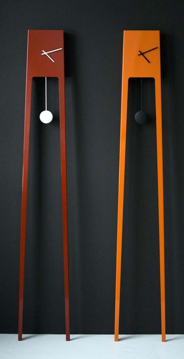Wanduhr Mit Pendel Modernes Design Holzkunst Wanduhr