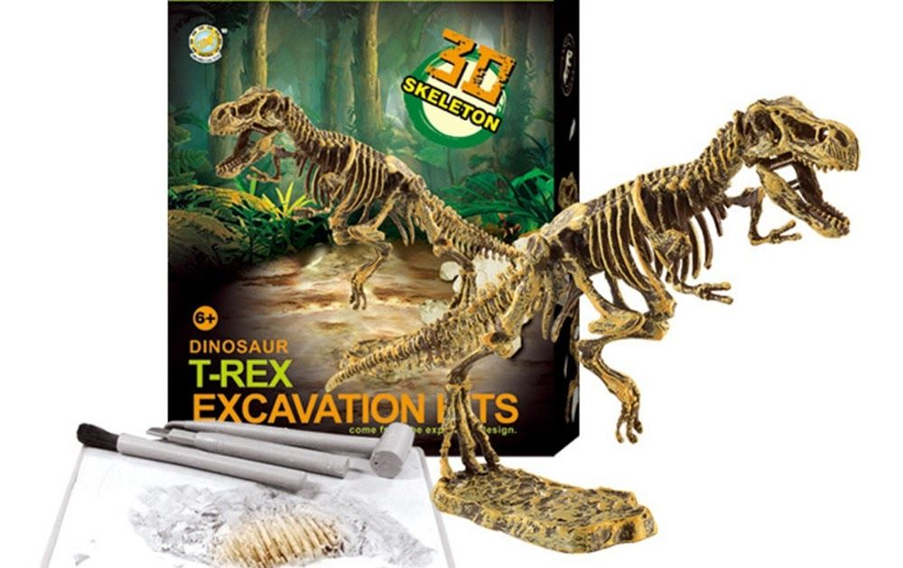 DINOSAUR FOSSIL DIG IT OUT EXCAVATION SCIENCE KIT
