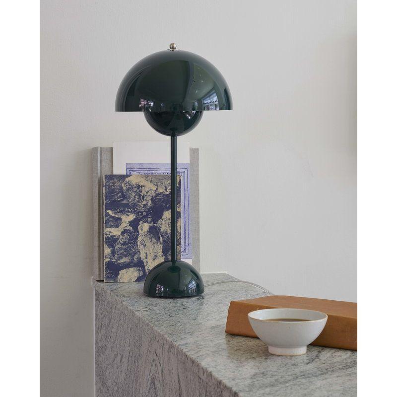 Tradition Flowerpot Vp3 Table Lamp Dark Green Lampe Design Rorlampe Lampe
