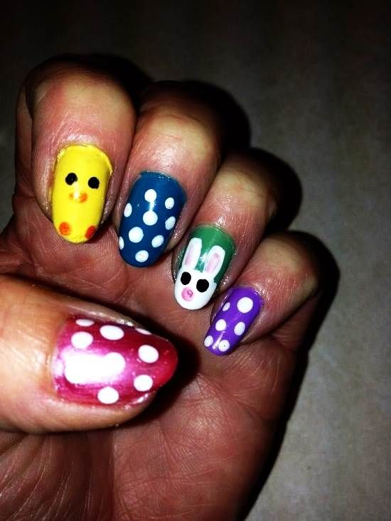 Easter Activities For Adults, Funny Nail Polish Ideas