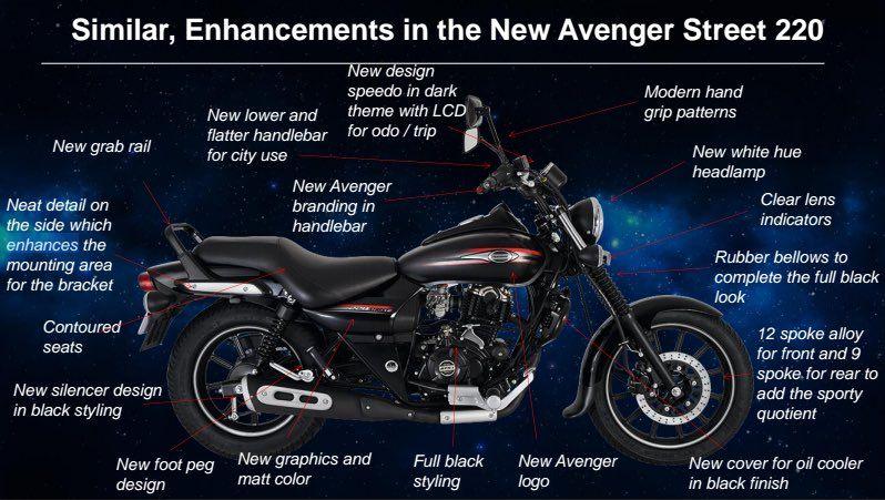 Bajaj Avenger Street 220 Features Specifications Price In