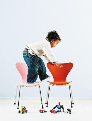 Serie 7 Kinderstuhl Esche Getönt Red Pinterest Kids Furniture