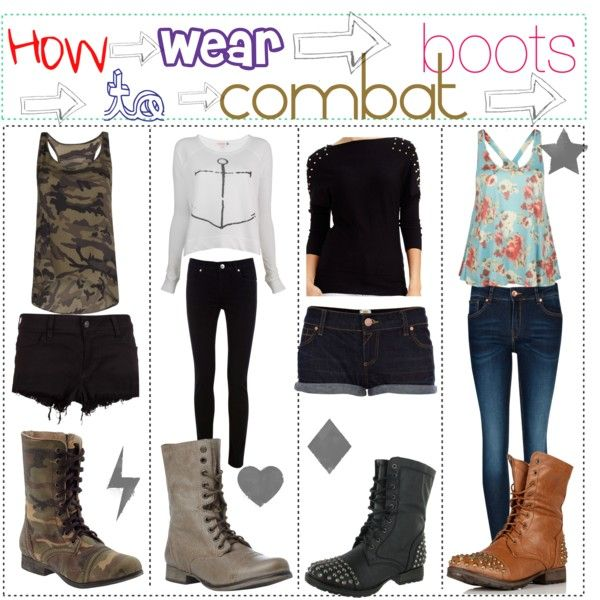 1000  images about How To Wear Combat Boots on Pinterest | Combat ...