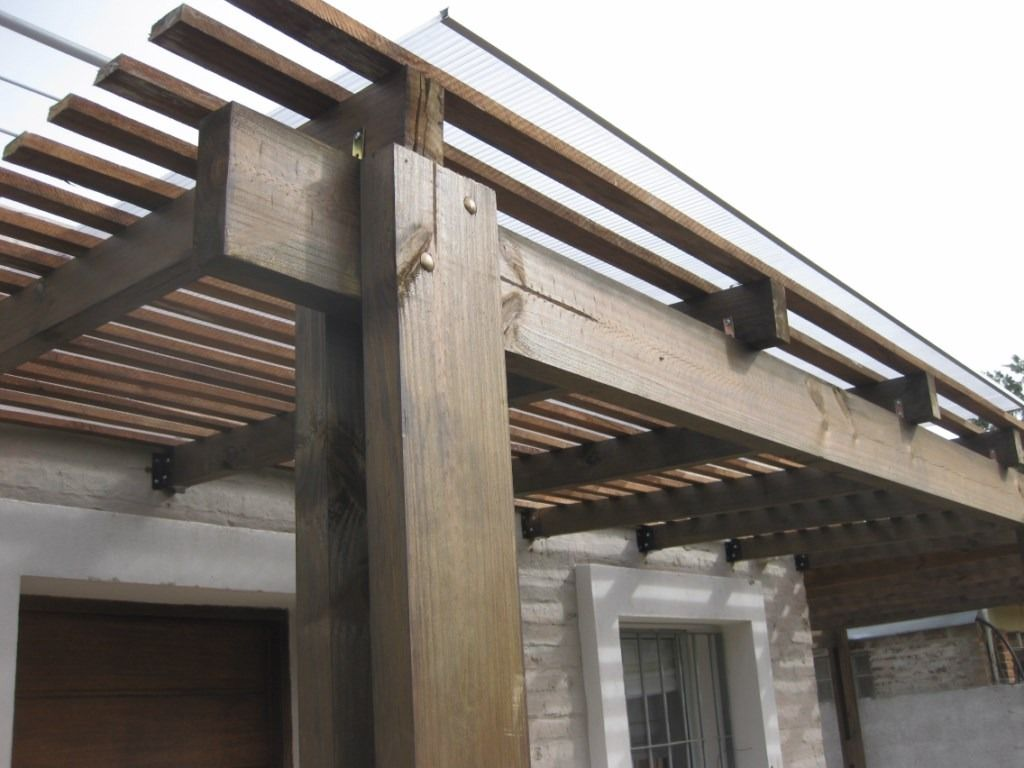 Pergolas de madera pergolas de hierro 1813 mlu4634669385 - Pergola de hierro ...