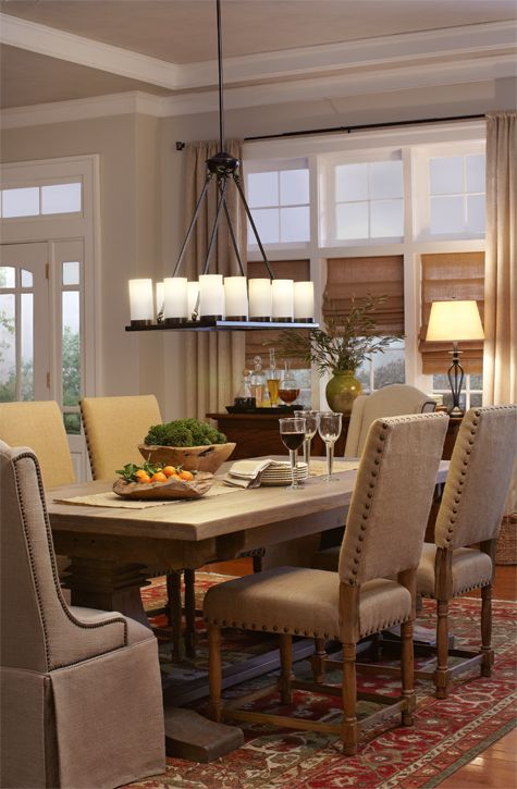 Awesome Dining Room Lighting Ideas At The Home Depot. Modern Light FixturesDining  ...