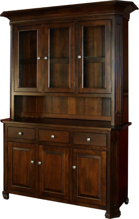 Amish Furniture Dining Hutches Buffets & Sideboards Hutches Alluring Dining Room Buffet Hutch Decorating Inspiration