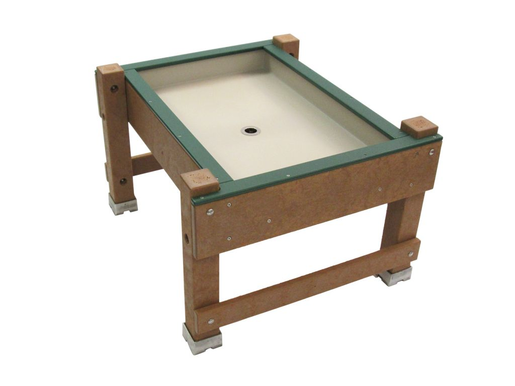 Marvelous Recycled Plastic Water Table: This Water Table Is Available In Both Wood  And Composite,