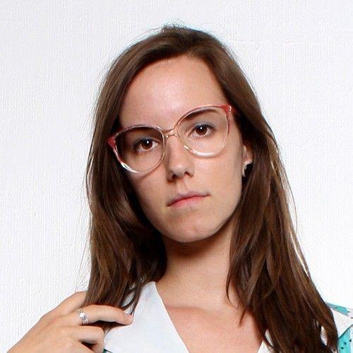 50s+Mauve+Eyeglasses+Frame++pink+transparent+by+MODvintageshop,+$39.00