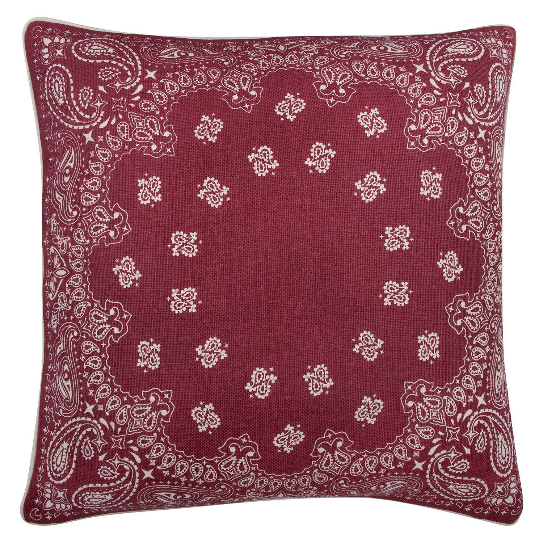 thomas paul bandana ruby pillow zincdoor  furniture  pinterest  - thomas paul bandana ruby pillow zincdoor
