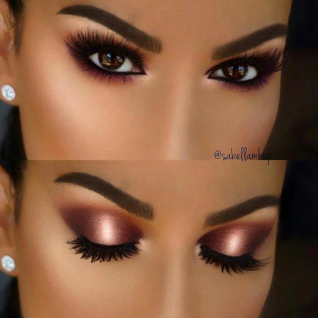 Material Girl Metallic Brown Eyeshadow