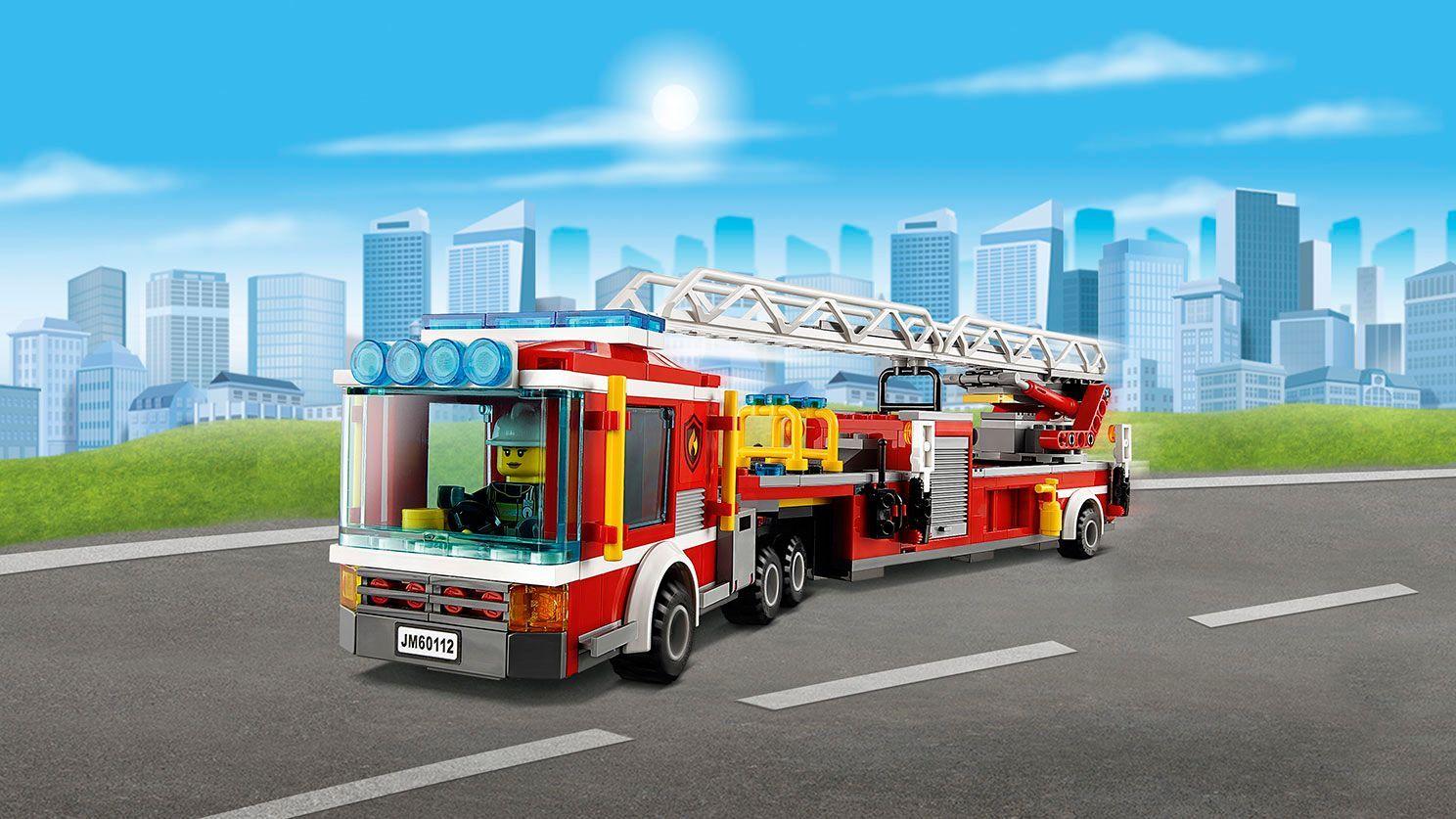 Lego City 60112 Fire Engine Lego Fire Lego City Fire Trucks
