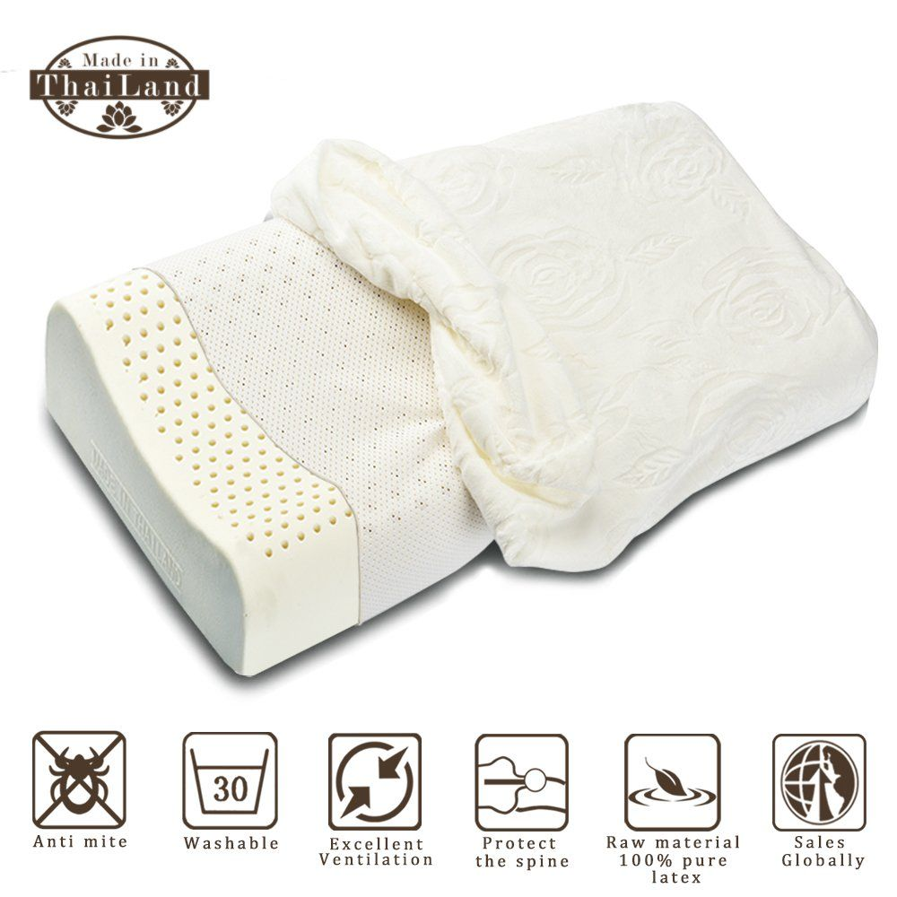 hypoallergenic pillow alpha latex 100 natural latex pillow for