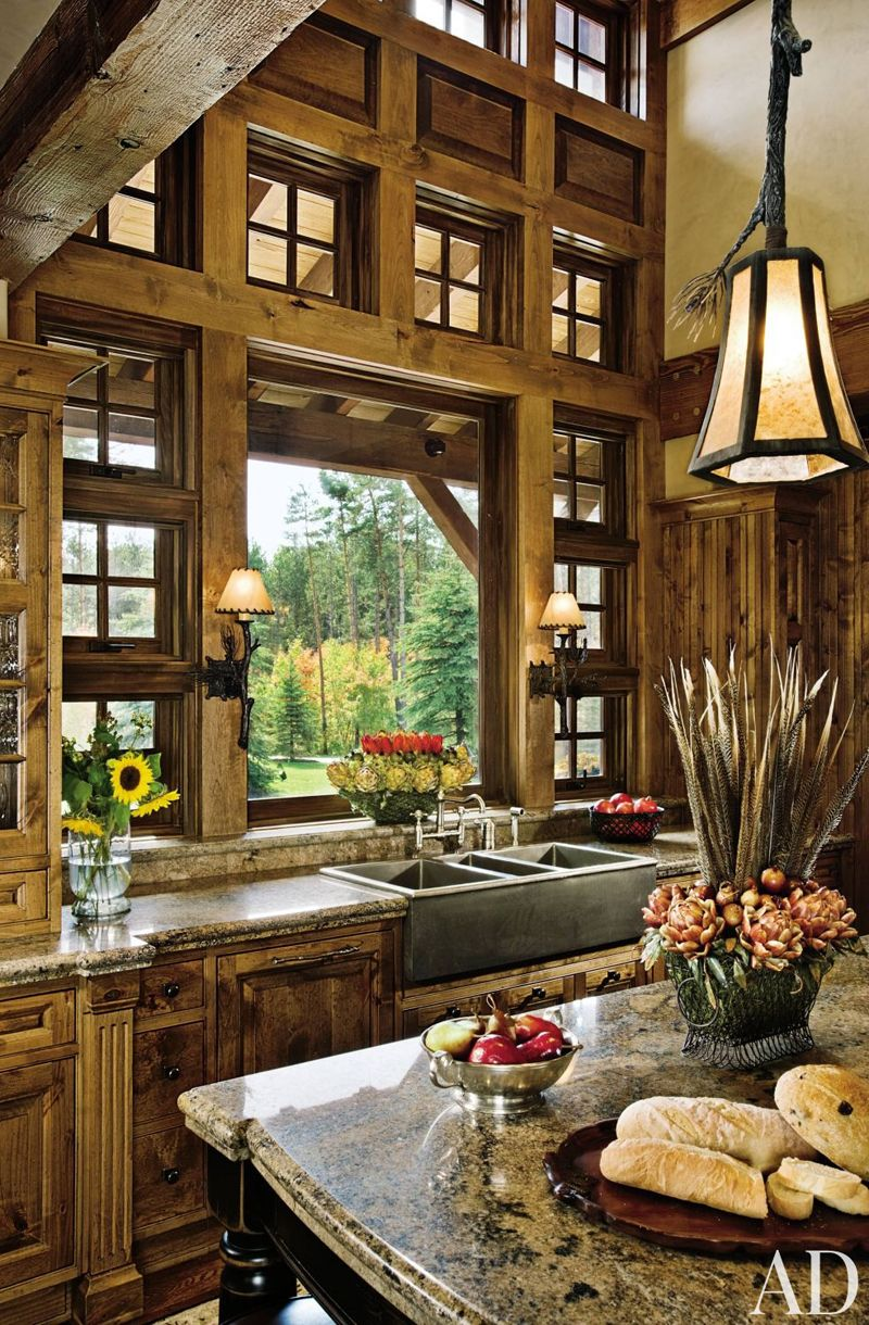 Dream Country Kitchen Interior And Exterior Country House Pictures  33 Examples